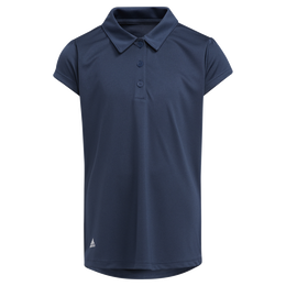 Girls' Performance Primegreen Short Sleeve Polo Shirt