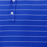 Alternate View 1 of Lisle Double Pin Stripe Self Collar Polo
