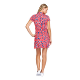 Alternate View 2 of Fun in the Sun Collection: Neale Short Sleeve Cheetah Dress