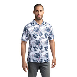 All of The Above Short Sleeve Palm Leaf Polo