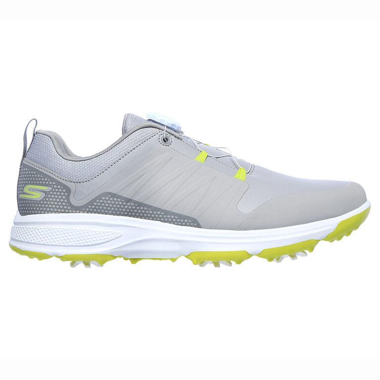 GO GOLF Torque Twist Men's Golf Shoe - Grey/Lime