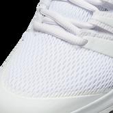 Alternate View 4 of NikeCourt Jr. Vapor X Kids' Tennis Shoe - White/Yellow