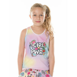 Girl Power Rib Tank