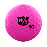 Alternate View 1 of Fifty Elite Pink Golf Balls