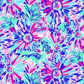 Alternate View 3 of SolCool Lola Floral Printed Zip Mock