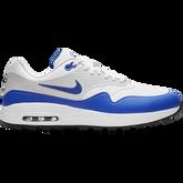Air Max 1 G Men's Golf Shoe - White/Blue