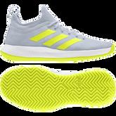 Alternate View 3 of Defiant Generation Multicourt  Women's Tennis Shoe - Blue/Yellow