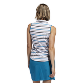 Alternate View 3 of Ultimate365 Sleeveless Stripe Polo Shirt