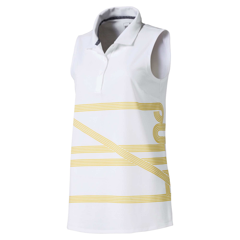 Women's Script Sleeveless Golf Polo