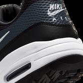 Alternate View 9 of Air Max 1 G Men's Golf Shoe - Black/White