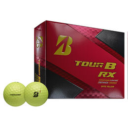 Bridgestone Tour B RX Yellow Golf Balls - Personalized