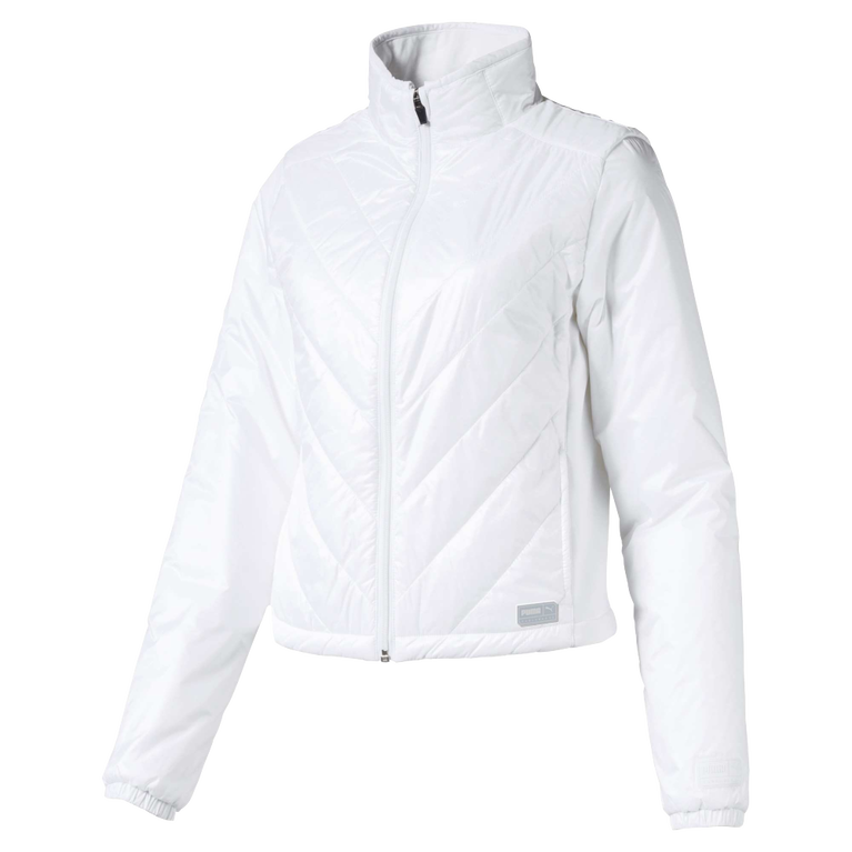 Women's Quilted Primaloft Long Sleeve Full Zip Jacket