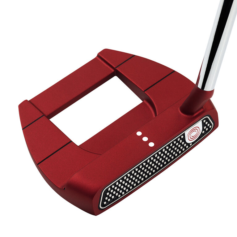 Odyssey O-Works Red Jailbird Mini S Putter w/ Superstroke Grip