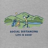 Alternate View 1 of Social Distancing Golf Crusher Tee
