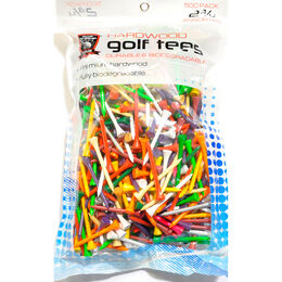 """Precision Golf Tees - 2 3/4"""" - 500 Pack"""