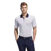 2-Color Club Merch Stripe Polo