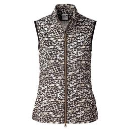 Natural Collection: Leonie Leopard Print Wind Vest