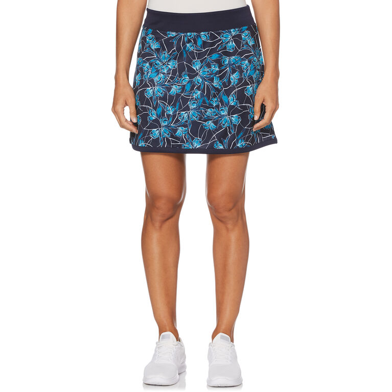 Aqua Group - Floral Breeze Print Golf Skort