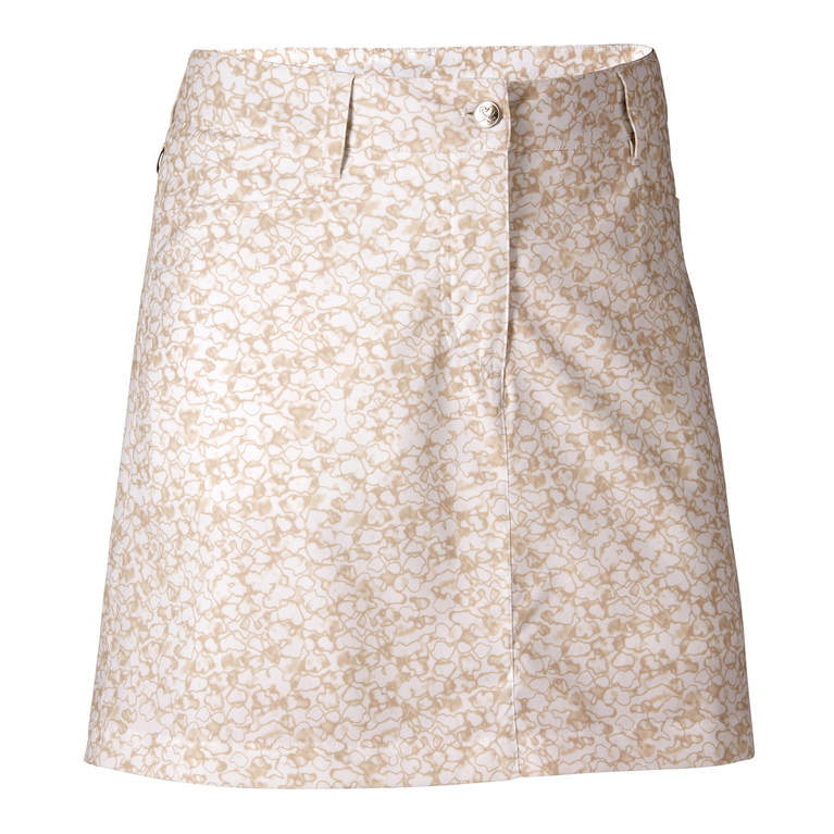 Natural Collection: Nova Straw Lace Print Skort