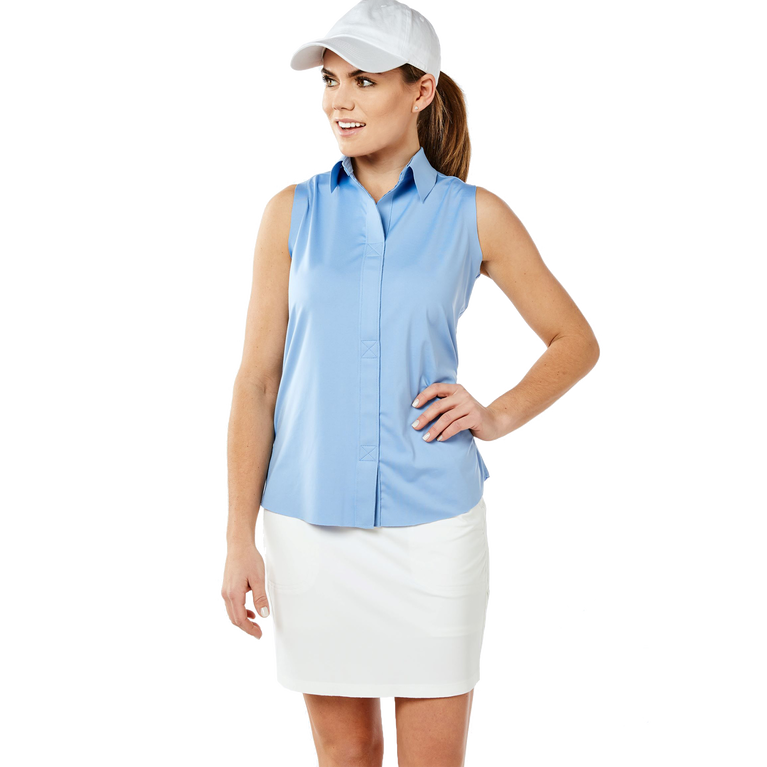 Carlisle Group: Sleeveless Keystone Polo