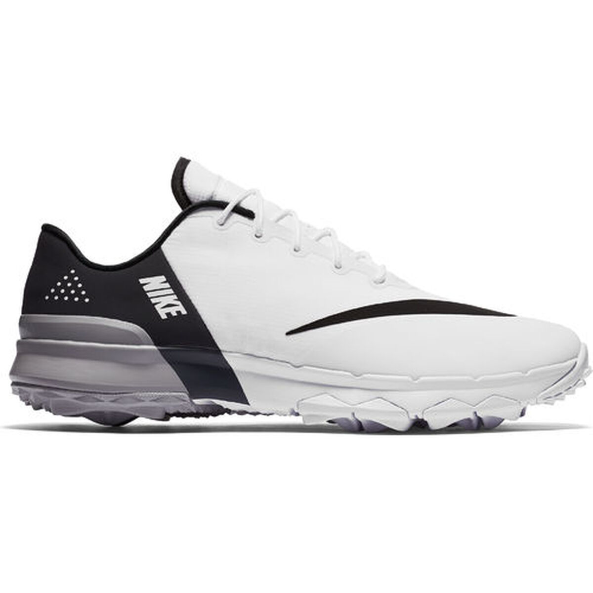 201d35814fdc9 Nike FI Flex Men's Golf Shoe - White/Black | PGA TOUR Superstore