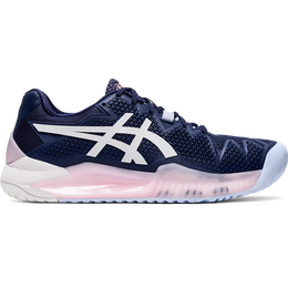 GEL RESOLUTION 8 Women's Tennis Shoes - Navy/White