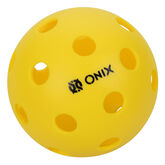Onix Pure 2 Pickleball Ball Indoor 3 Pack - Yellow