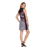 Alternate View 4 of Palm Coast Collection: Giana Sleeveless Palm Print Dress