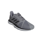 Alternate View 3 of Courtjam Bounce Men's Tennis Shoe - Grey/Black