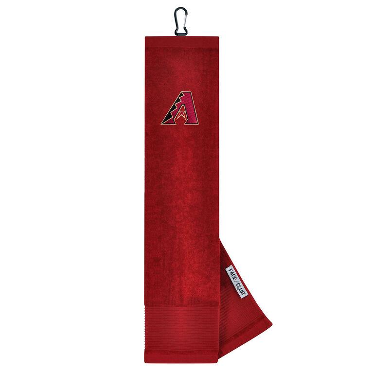 Team Effort Arizona Diamondbacks Tri-fold Embroidered Towel