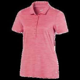 Daily Heathered Short Sleeve Polo Shirt