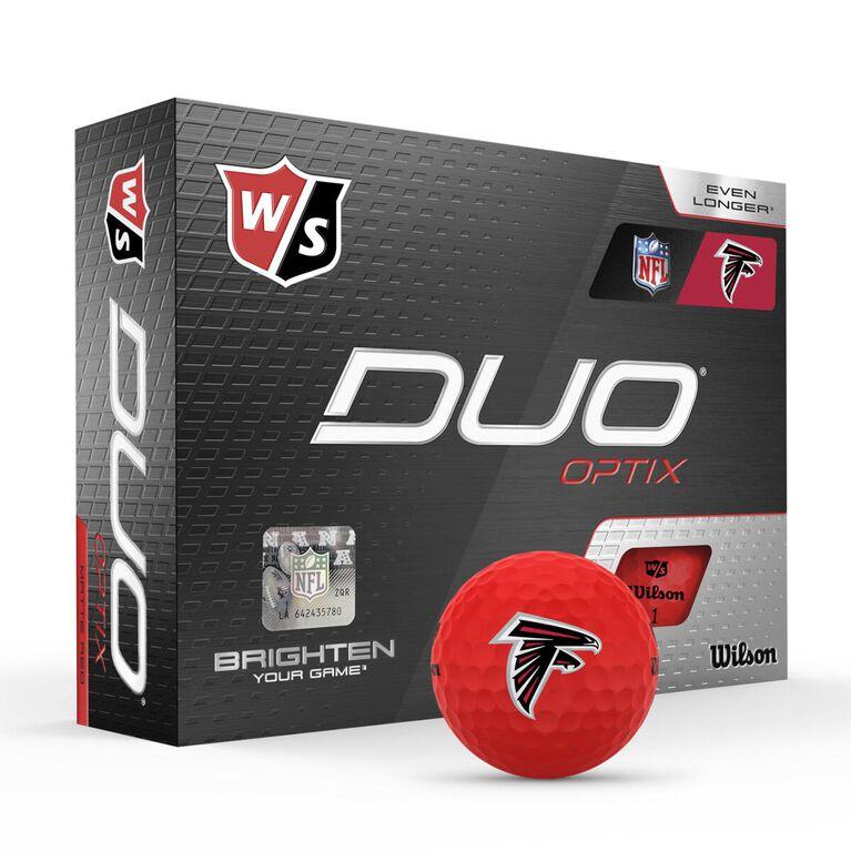 DUO Optix NFL Golf Balls - Atlanta Falcons