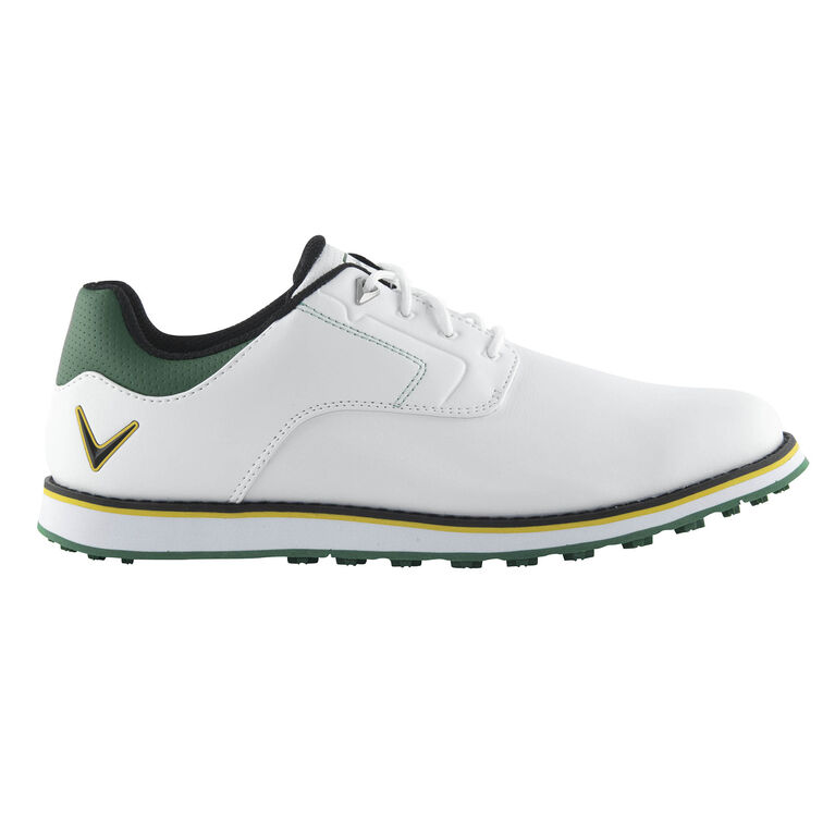 LaJolla Men's Golf Shoe- White/Green