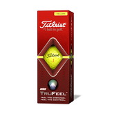 Alternate View 2 of TruFeel Yellow Golf Balls - Personalized