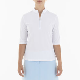 Noa Elbow Sleeve Polo