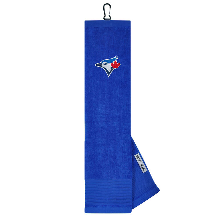 Team Effort Toronto Blue Jays Tri-fold Embroidered Towel