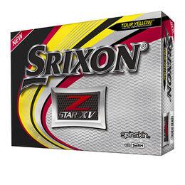 Srixon Z-STAR 6 XV Golf Balls - Yellow