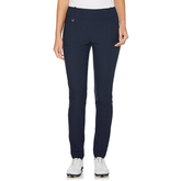 Pull-On Woven Solid Stretch Golf Trouser
