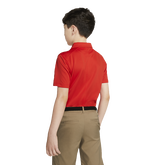 Alternate View 1 of Dri-FIT Boys' Triangle Printed Golf Polo