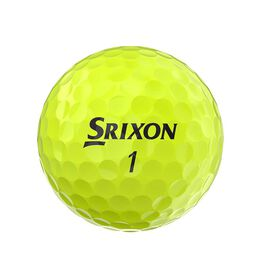 Soft Feel 12 Yellow Golf Balls
