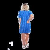 Alternate View 2 of Austin Short Sleeve Doilies Print Dress