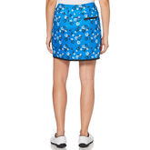 Alternate View 2 of PGA TOUR Black and Blues Collection: Floral Print Golf Skort