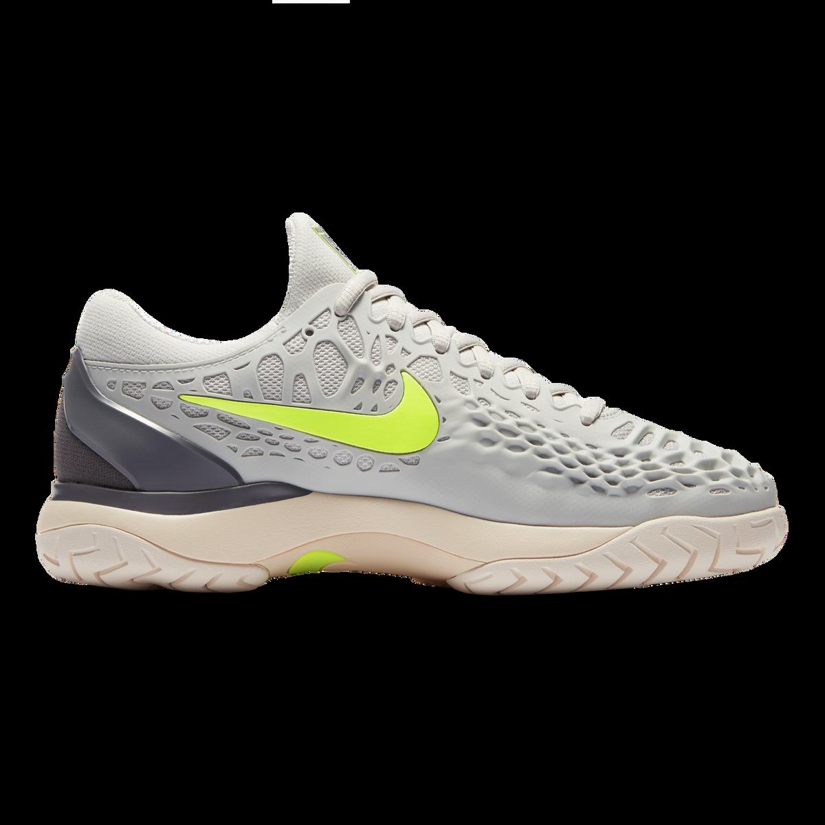 824d91b4d278 Nike Zoom Cage 3 Women s Tennis Shoe - Grey Green