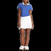 Eyelet Collar Short Sleeve Golf Shirt