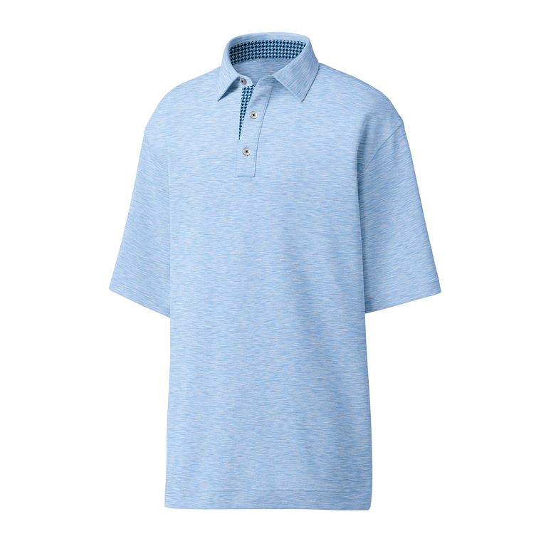 Lisle Houndstooth Accent Polo