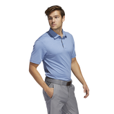 Alternate View 1 of Ultimate365 2.0 Novelty Heather Polo Shirt