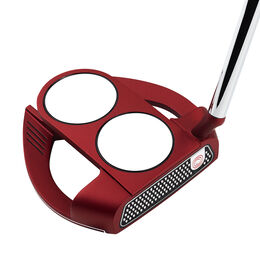 Odyssey O-Works Red 2-Ball Fang S Putter w/ Superstroke Grip
