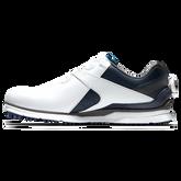 Alternate View 1 of Pro SL Carbon BOA Men's Golf Shoe - White/Navy