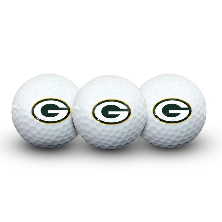 Team Effort Green Bay Packers Golf Ball 3 Pack