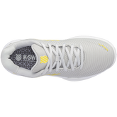 Alternate View 6 of Hypercourt Express 2 Women's Tennis Shoe - Grey/Yellow